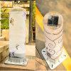 Lumière de jardin LED solaire avec batterie au lithium 2000mAh Panneau solaire
