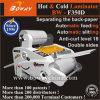 Das heiße A3 A4 Größen-Notizbuch walzen Film LCD-Bildschirm-lamellierende Laminiermaschine-Laminierung-Maschine kalt