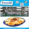 Chaîne de production de pommes chips à échelle réduite de coût bas faisant frire la machine avec la haute efficacement