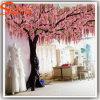Projeto novo árvore personalizada da flor artificial da decoração