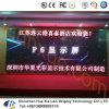 Governo di alluminio locativo dell'interno dell'armadietto di esposizione del LED dell'esposizione di LED di P6-4s