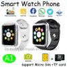 1.54のタッチ画面(A1)が付いている最も新しいBluetoothのスマートな腕時計の電話