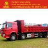 Sinotruk HOWO 8*4 판매를 위한 덤프 또는 쓰레기꾼 팁 주는 사람 트럭