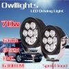 70W 7 pouces - haute énergie DEL Driving Work Light pour Jeep