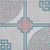 艶をかけられた陶磁器の床タイル(9830)