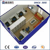 Camera prefabbricata del contenitore con la toletta della cucina per l'accampamento