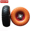 10X3.5-4 PU Foamed Wheel Tyre/PU Foam Cart Wheel