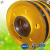 Сталь 800мм-3000мм размер провода подъемного каната шкивы двигателя