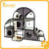 Hammock (PT58021G)를 가진 Kitty 호화스러운 Activity Center Cat Tree