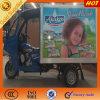 Caja caliente de la caja de la cabina de la venta caliente con el triciclo de la bebida
