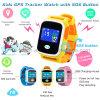 GPS van de Jonge geitjes van de pedometer het Slimme Horloge van de Drijver met het Kleurrijke Scherm van de Aanraking Y8