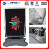 Diodo emissor de luz Banner Stand Advertizing Poster Board com Moveable Wheels (LT-10J-A)