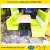 Conjunto de los muebles del sofá del vector del restaurante de los alimentos de preparación rápida