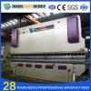Máquina de dobra hidráulica da placa da liga do CNC de Wc67y