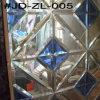 Blaues Crystal Glass Mirror Tile für Raum Decor
