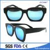 Gepolariseerde Zonnebril van uitstekende kwaliteit van de Acetaat de Manier van Unisex-Oogglazen