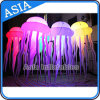 Portable LED Inflatable Jellyfish Shape Decoration para Natal / Evento / Festa