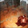 Epoxidmetallisches Epoxidlack-Pigment-Puder des fußboden-3D