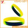 De Manchet van het Silicone van het Ontwerp van de douane, de Armband van het Silicium (yb-sm-05)