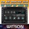 Witson WindowsのKIA Sportage 2016年の無線のステレオDVDプレイヤー