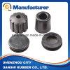 Taquet fourni par usine directe en caoutchouc de résistance de la corrosion