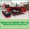 Meubles en cuir de maison de sofa de Shelton de qualité pour la salle de séjour