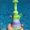 Neues grünes purpurrotes Farben-Glas-rauchende Wasser-Rohr-Ölplattformen