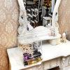 Crémaillère d'étalage acrylique fournie par fournisseur de bijou d'organisateur multicouche de renivellement de la Chine
