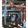 Hacia arriba máquina de colada continua de la línea de producción para la varilla de latón