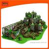 Venta de juegos populares Chilidren caliente Parque de Atracciones Parque de juegos cubierta deslizante Naughty Castal Indoorplayground