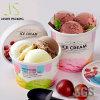 習慣によって印刷されるフローズンヨーグルト及びアイスクリームの紙コップのペーパボールのアイスクリームの容器