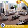Italia clásica de madera de diseño de mobiliario de oficina oficina de cuero sofá (HX-SN8079)