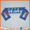 Sciarpa di gioco del calcio stampata marchio su ordinazione morbido