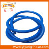 Boyau bleu à nervures à haute pression de jet de PVC