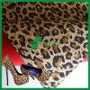 Fabbricato 100% del pattino della pelle scamosciata del puma stampato leopardo del poliestere