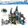 Navio Pirata equipamentos de playground comercial com deslize Hf-13701