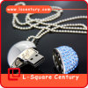 Jewelry Heart-Shaped Diamond USB Flash Driver 4G-32g Top Quality