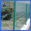 PVCによって塗られる溶接金属の庭の金網の塀のパネル