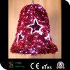 LEDのクリスマス鐘のモチーフライト
