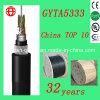 GYTA5333 Câble de fibre optique à 8 canaux mâle et canalisé avec fibre à mode unique