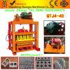 Kleber-Blöcke des Ziegelstein-Qtj4-40, die Maschine kleinen Ziegelstein manuelle Block-Maschinen maschinell bearbeiten lassen