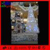 Árvore de Natal artificial ao ar livre da decoração gigante do diodo emissor de luz do PVC