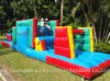 Inflatable gigante Obstacle Course per Children, Inflatable Outdoor Play Equipment