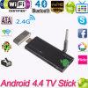 La Chine Made Cx919 Quad Core Android 4.4 TV Stick 2g/8g avec Xbmc Dlan