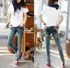 Latest Designed Fashion Lady Jeans Jbw0303
