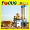 Planta de tratamento por lotes concreta modular do projeto 75m3/H com cubeta da escalada