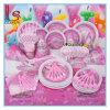 A festa de anos fornece produtos da festa de anos de Criança Cor-de-rosa Tema da menina da fantasia da princesa Ajuste