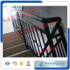 Pasamanos de la escalera del hierro labrado/pasamano curvados exteriores modificados para requisitos particulares de la escalera