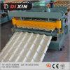 2015 Step Tile Glazed Tile Roll formando máquinas