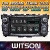 De Auto DVD van het Scherm van de Aanraking van de Vensters van Witson voor Nissan Teana 2013